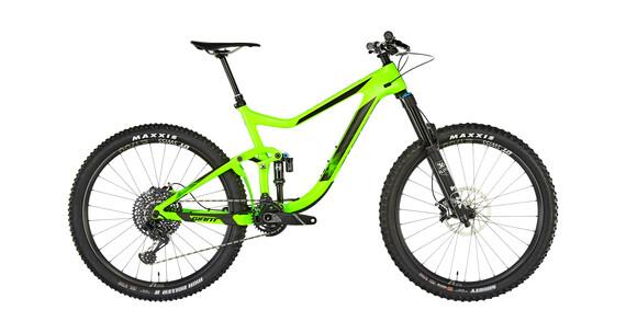 Giant Reign Advanced 1 Rower górski Full Suspension Mężczyźni zielony